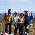 鹿島山912m・大鈴山1012m・平山明神山970m