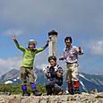 寺地山と北ノ俣岳